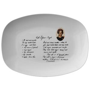 Family Recipe Platter - For Lisa Bush - 24th Ave Designs