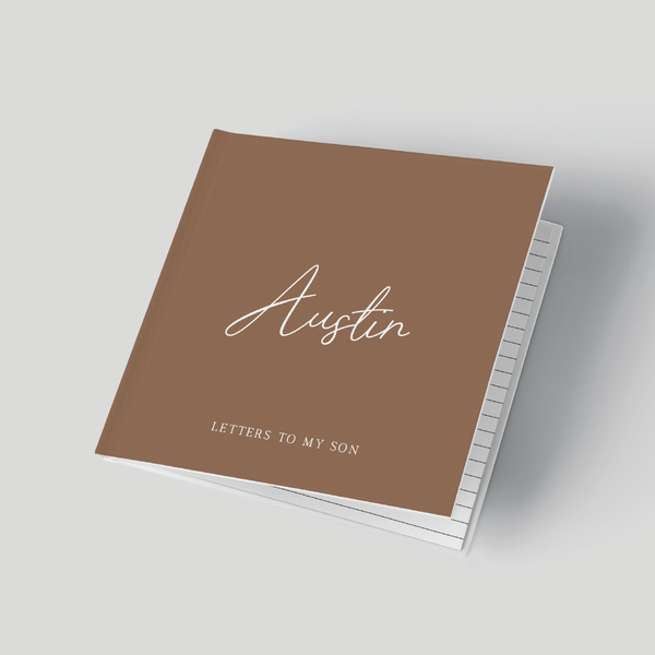 Letters to my Son - 24th Ave Designs