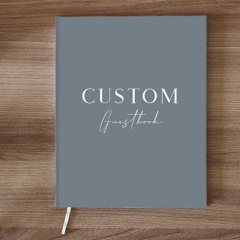 Custom Guestbook - 24th Ave Designs