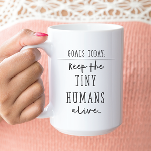 Goals Today: Keep the tiny humans alive... - 24th Ave Designs