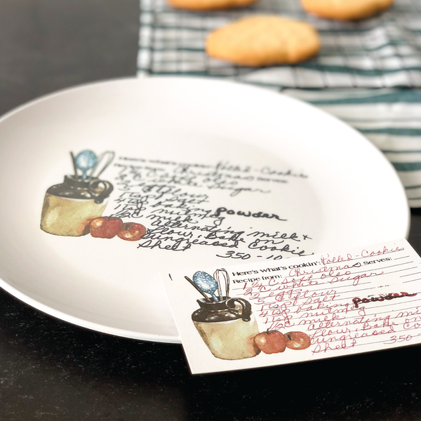 Family Recipe Plate - 24th Ave Designs