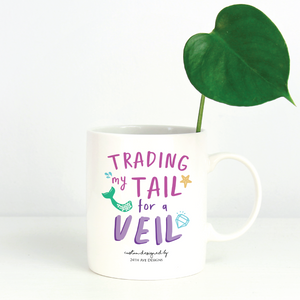Trading my Tail for a Veil - 24th Ave Designs