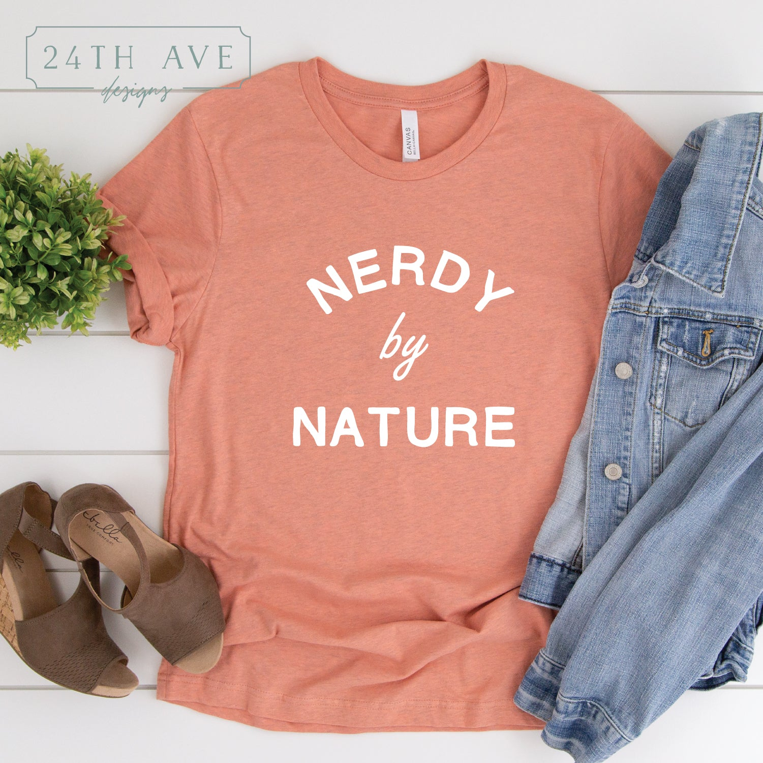 Nerdy by Nature - 24th Ave Designs