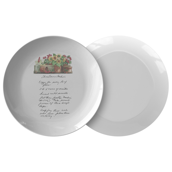 Family Recipe Plate - For DFWOOD - 24th Ave Designs