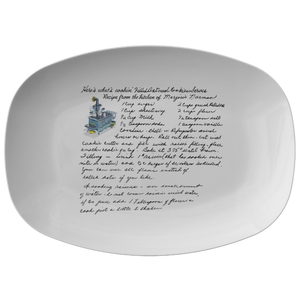 Family Recipe Platter - For Debbie H - 24th Ave Designs