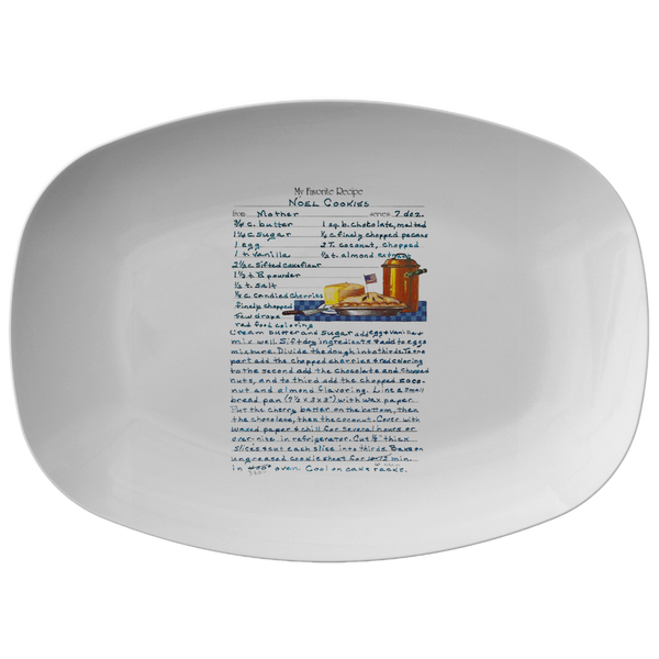 Family Recipe Platter - For Christina C - 24th Ave Designs