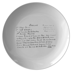 Family Recipe Plate - Kugler 2 - 24th Ave Designs