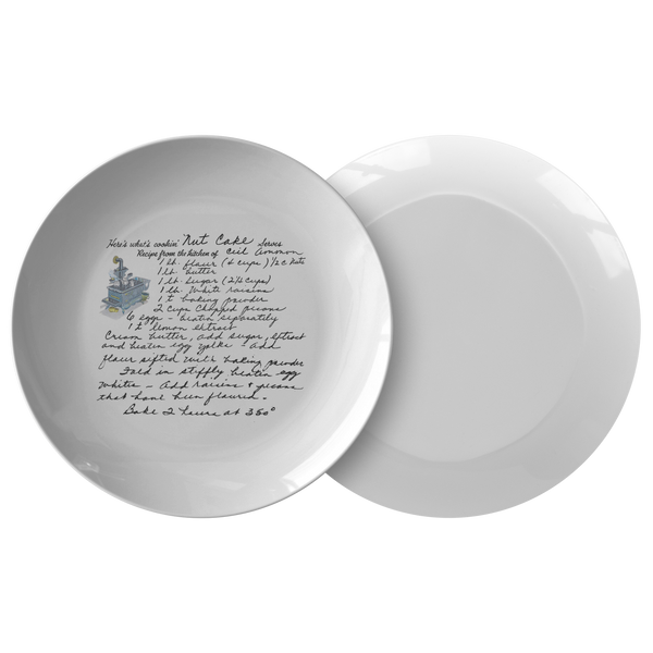 Family Recipe Plate - Susan B - 24th Ave Designs