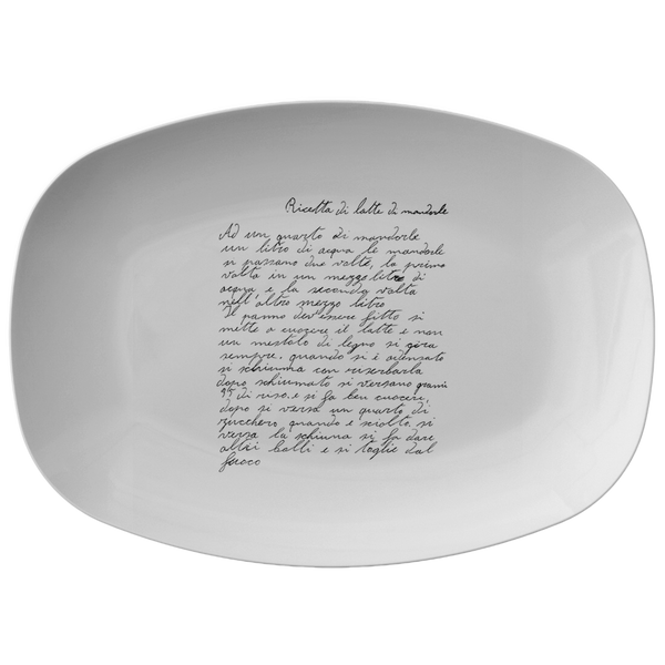 Family Recipe Platter - For Renee Rizzo - 24th Ave Designs
