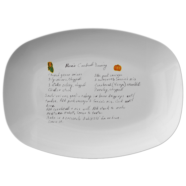Family Recipe Plater - For Lynn Brown - 24th Ave Designs