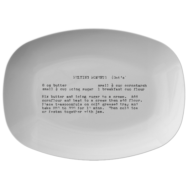 Family Recipe Plate - For Grenevieve F - 24th Ave Designs