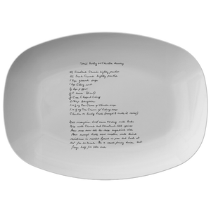Family Recipe Platter - Fo Judy Bourne - 24th Ave Designs