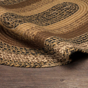 VHC Brands Kettle Grove Jute Rug Oval 24x36