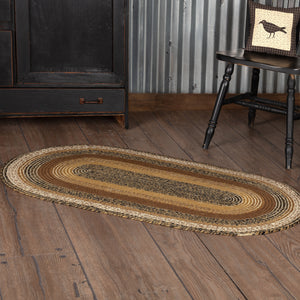 VHC Brands Kettle Grove Jute Rug Oval 27x48