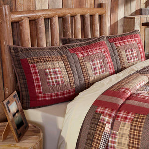 VHC Brands Rustic & Lodge | Bedding & Pillows | Tacoma King Sham 21x37