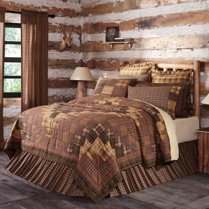 VHC Brands Rustic & Lodge | Bedding & Pillows | Prescott King Quilt 110Wx97L