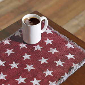 VHC Brands | Americana Kitchen & Tabletop Decor | Multi Star Navy Runner 13x72