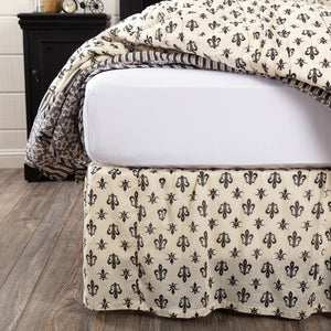 VHC Brands Farmhouse | Bedding & Pillows | Elysee Twin Bed Skirt 39x76x16