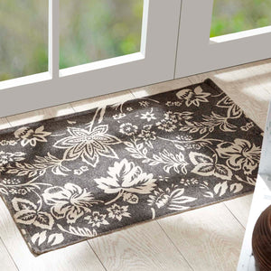 VHC Brands Lilianna Charcoal Rug 20x30