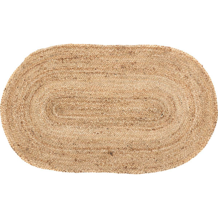 Natural Jute Rug Oval 20x30
