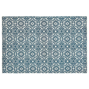VHC Brands Francesca Deep Teal Rug 48x72