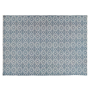 VHC Brands Francesca Deep Teal Rug 96x132