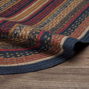 VHC Brands Stratton Jute Rug Oval 27x48