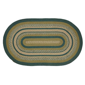 VHC Brands Sherwood Jute Rug Oval 36x60