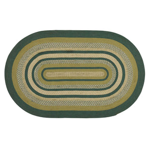 VHC Brands Sherwood Jute Rug Oval 60x96