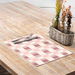 VHC Brands | Farmhouse Kitchen & Tabletop Decor | Daphne Ribbed Placemat Set of 6 12x18