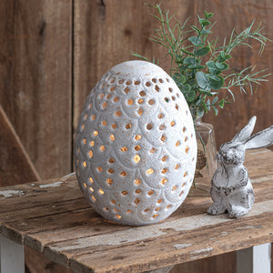 Perforated Tabletop Egg