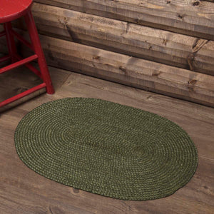 VHC Brands Cypress Jute Rug Oval 27x48