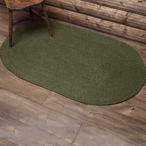 VHC Brands Cypress Jute Rug Oval 36x60