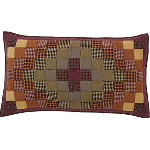 VHC Brands Primitive | Bedding & Pillows | Heritage Farms King Sham 21x37