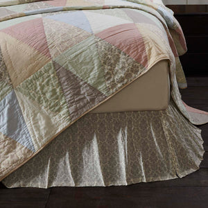 VHC Brands Farmhouse | Bedding & Pillows | Ava King Bed Skirt 78x80x16