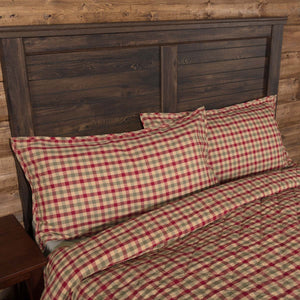 VHC Brands Seasonal | Bedding & Pillows | Jonathan Plaid King Sham 21x37