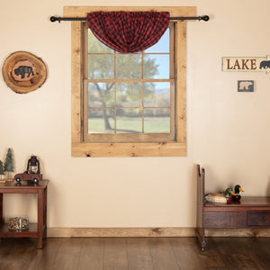 VHC Brands Rustic |  Window Treatments | Cumberland Balloon Valance 15x60