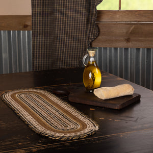 VHC Brands | Primitive Kitchen & Tabletop Decor | Kettle Grove Jute Runner 8x24