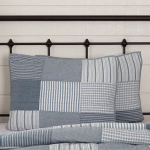 VHC Brands Farmhouse | Bedding & Pillows | Sawyer Mill Blue Standard Sham 21x27