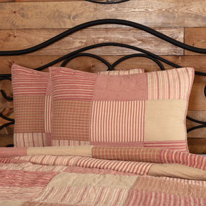 VHC Brands Farmhouse | Bedding & Pillows | Sawyer Mill Red Standard Sham 21x27