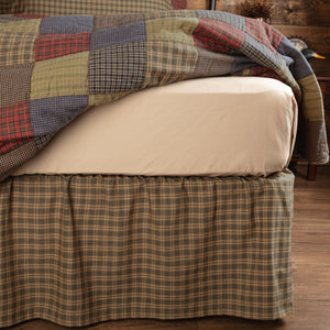 VHC Brands Rustic | Bedding & Pillows | Cedar Ridge Queen Bed Skirt 60x80x16