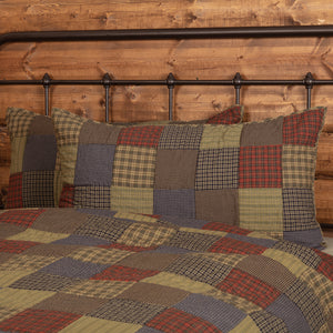 VHC Brands Rustic | Bedding & Pillows | Cedar Ridge King Sham 21x37