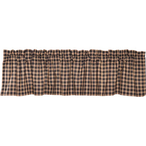 VHC Brands Classic Country |  Window Treatments | Bingham Star Valance Plaid 16x72