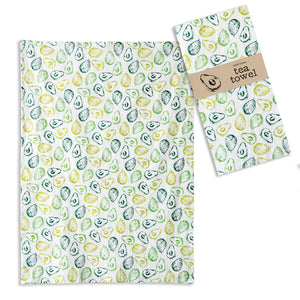 Avocados Tea Towel - Box of 4