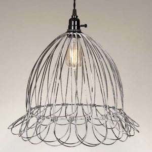 Shop Wire Scallop Dome Pendant Lamp