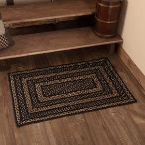 VHC Brands Farmhouse Jute Rug Rect 24x36