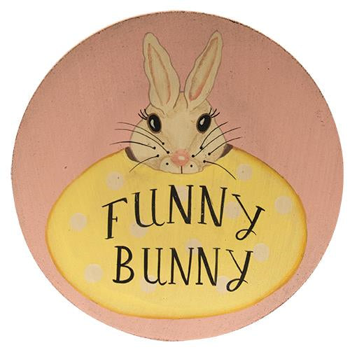 Funny Bunny Plate