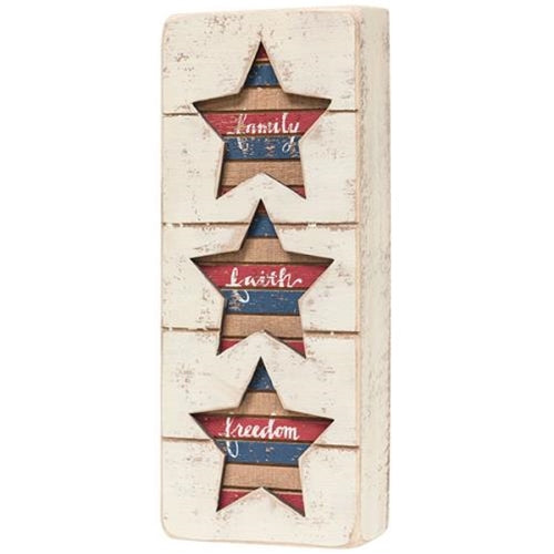 Americana Slat Box Sign