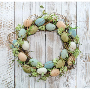 Natural Egg Wreath