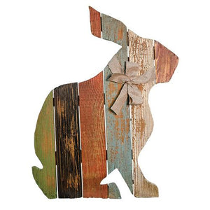 Slat Rabbit with Bow